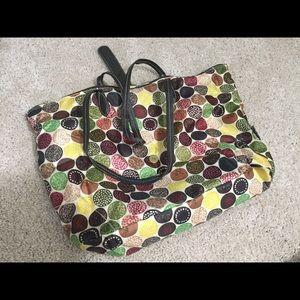 Love sac fun printed bag purse large
